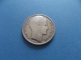France - III ème République Turin - 1933 - 20 Francs - Argent TTB - L. 20 Francs