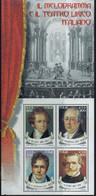 PIA - ITA -REPUBBLICA :  2001 - Il Melodramma E Il Teatro Lirico Italiano  -  (SAS  Bf 32) - Muziek