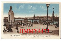 CPA - Le Quai De Coligny Bien Animé, Vieux Camion, Attelage - CHERBOURG 50 Manche - Edit. G. Artaud N° 72 - Recto-Verso - Cherbourg