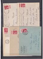 N° 283 5 Pub S / Env - Marcophilie (Lettres)