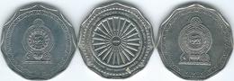 Sri Lanka - 10 Rupees - 2009 (KM181) 2011 - 2600th Anniversary Of Jayanthi (KM186) & 2013 (KM181a) - Sri Lanka