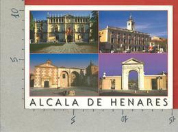 CARTOLINA VG SPAGNA - ALCALA DE HENARES - Vedutine Multivue - 10 X 15 - ANN. 2000 - Madrid