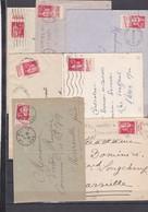N° 283 7 Pub S / Env - Marcophilie (Lettres)