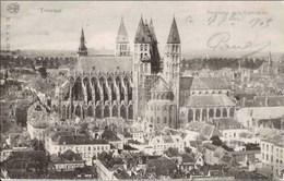 TOURNAI - Panorama Et La Cathédrale - Carte Précurseur - Oblitération De 1905 - Tournai