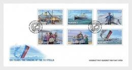 Alderney - Postfris / MNH - FDC 120 Jaar SS Stella 2019 - Alderney