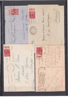 N° 272 4 Pub S / Env - Marcophilie (Lettres)