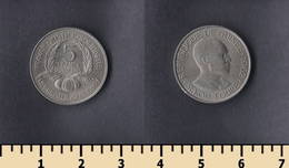 Guinea 5 Francs 1962 - Guinée