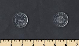 Bolivia 2 Centavos 1987 - Bolivia