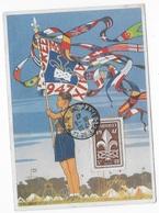 Carte Postal Scoutisme Jamborée 1947 - Pfadfinder-Bewegung