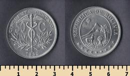 Bolivia 50 Centavos 1939 - Bolivia