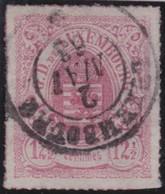 Luxemburg     .     Yvert  .     18         .        O    .          Gebruikt   .     /   .     Cancelled - 1859-1880 Wapenschild