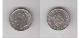 VENEZUELA -25 CENTIMOS 1965 - Venezuela