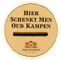 Nederland. Quality Cigars. Oud Kampen Sigaren Zijn Gemaakt Met Toewijding En Liefde Voor Het Ambachtelijk Vak. Pays-Bas. - Bierviltjes