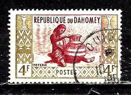 DAHOMEY  162° 4f Olive Et Bordeaux Artisanat Poterie (10% De La Cote + 0,15) - Bénin – Dahomey (1960-...)