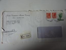"""Busta Pubblicitaria Viaggiata """"Società Cooperativa Muratori Cavriago""""   Raccomandata 1979 - 6. 1946-.. Republic"""