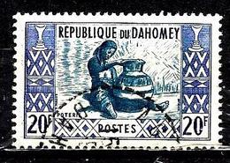 DAHOMEY  166° 20f Outremer Et Bleu Artisanat Poterie (10% De La Cote + 0,15) - Bénin – Dahomey (1960-...)