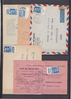 15f Gandon 5 Pub S / Env - Marcophilie (Lettres)