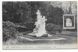 """Carte Postal Le Parc Monceau """"Le Monument De Gounod"""" - Parcs, Jardins"""