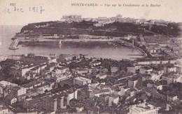 MONTE CARLO VUE SUR LA CONDAMINE ET LE ROCHER (dil85) - Monte-Carlo