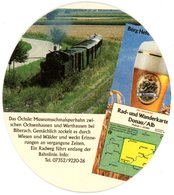 Deutschland. Berg Brauerei. Hefeweizen. Ulrich Zimmermann. Wirtshaus Seit 1466. Schmalspurbahn Ochsenhausen - Warthausen - Bierdeckel