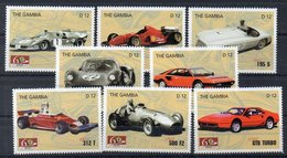 GAMBIE  Timbres Neufs ** De 2007 ( Ref 6075 ) Sport Automobile - Ferrari - Gambie (1965-...)