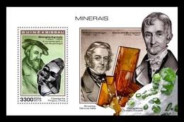 Guinea-Bissau 2018 Mih. 10277 (Bl.1769) Minerals MNH ** - Guinea-Bissau