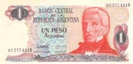 Un Peso  Banknote Argentinien - Argentine