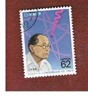 GIAPPONE  (JAPAN) - SG 2130   -   1990  Y. NASHINA, RADIOISOTOPES      - USED° - Usati