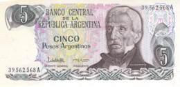 Cinco Peso  Banknote Argentinien - Argentinien