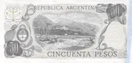 Cincuenta Peso  Banknote Argentinien - Argentine