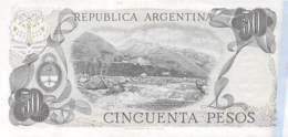 Cincuenta Peso  Banknote Argentinien - Argentinien