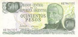 Quinientos Peso  Banknote Argentinien - Argentinien
