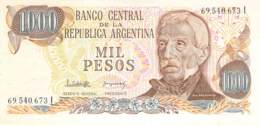 Mil Peso  Banknote Argentinien - Argentine