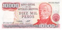 Diez Mil Peso  Banknote Argentinien - Argentinien