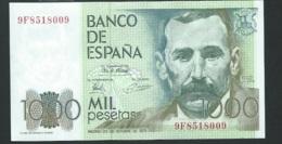 Espagne - Billet De 1000 Pesetas - 23 Octobre 1979 - Benito Perez Galdos ( 9f8518009 )   - Laura4201 - [ 4] 1975-… : Juan Carlos I