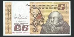 1993 - Irlande - Ireland - 5 POUNDS,  08/04/1993  6  CHG 214977 - Laura4306 - Irlande