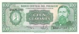 Cien Guaranies  Banknote Paraquay - Paraguay