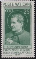 Vatican     .     Yvert  .     74     .     *    .          Ongebruikt   .     /   .    Mint-hinged - Vaticaanstad
