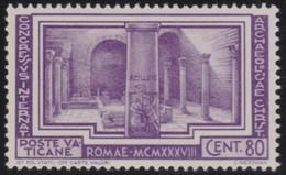 Vatican     .     Yvert  .     84     .     *    .          Ongebruikt   .     /   .    Mint-hinged - Vaticaanstad