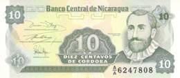 Diez Centavo  Banknote Nicaragua - Nicaragua