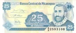 Veinticinco Centavo  Banknote Nicaragua - Nicaragua