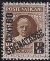 Vatican     .     Yvert  .     Taxe  5     .     *    .          Ongebruikt   .     /   .    Mint-hinged - Strafport