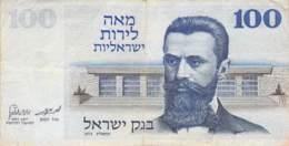 100 Shekel  Banknote Israel - Israel