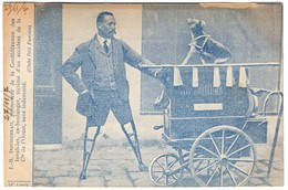CPA -J.B Doussineau, Promoteru De La Confédération Des Invalides, Victime D'un Accident De La CIE De L'ouest - Other