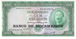 Cem Escudos Banknote Mocambique - Moçambique