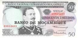 50 Escudos Banknote Mocambique - Mozambique