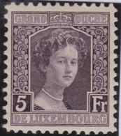 Luxembourg     .     Yvert  .    109       .     **    .          Postfris  .     /   .    MNH - 1914-24 Marie-Adelaide