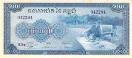 100 Cent Riels Banknote Kambodscha - Cambodge