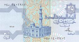 Twenty-Five Piasters Banknote Ägypten - Aegypten