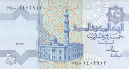 Twenty-Five Piasters Banknote Ägypten - Egipto